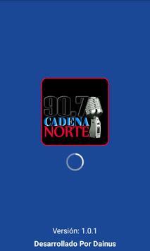 Cadena Norte 90.7 poster