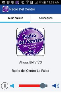 Radio Del Centro La Falda apk screenshot