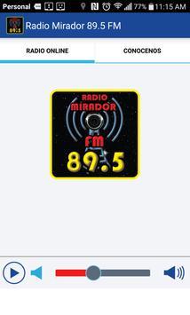 Radio Mirador 89.5 Fm screenshot 2