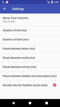 Morse From RSS News Feeds for Android - APK Download