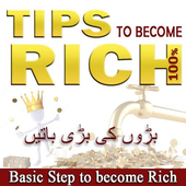 Get Rich : Tips to become Rich icon