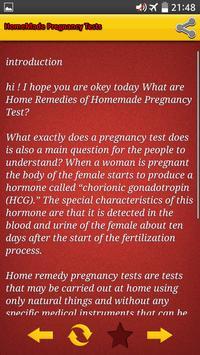 homemade pregnancy tests screenshot 1