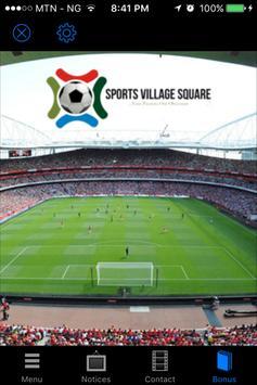 Sports Village Square screenshot 1