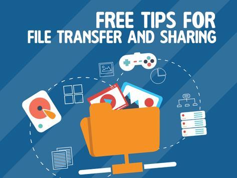 Tips for File Transfer & Sharing Xander App poster