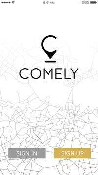 Comely: Wellness & beauty poster