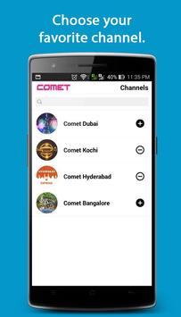Comet - Live City Updates, Events, Traffic, Fun... apk screenshot