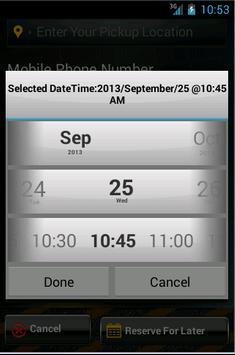 Comfort Ride Limo apk screenshot