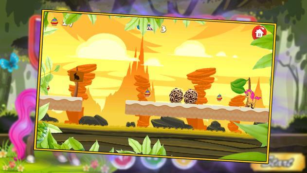 Little unicorn Jungle - run apk screenshot