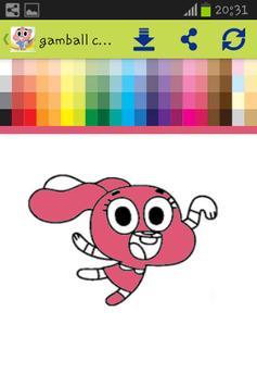 Gamball coloring for kids screenshot 2