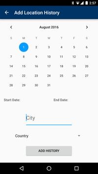 How Long Can I Stay? (HLCIS) apk screenshot