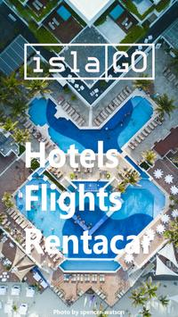 islaGO Flights Hotels Car Rentals poster