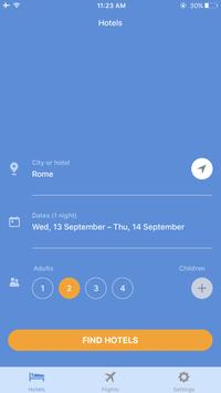 TinderHotels apk screenshot