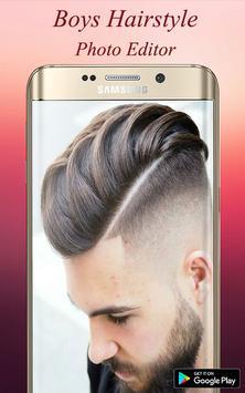 Boys Hairstyle Photo Editor screenshot 1
