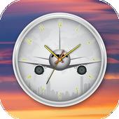 Airplane Clock Live Wallpaper icon