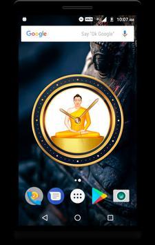 Buddha Clock Live Wallpaper poster