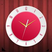 Crimson Clock Live Wallpaper icon