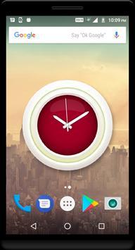 Crimson Clock Live Wallpaper apk screenshot