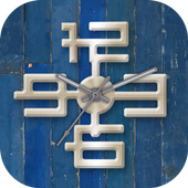 Modern Clock Live Wallpaper icon
