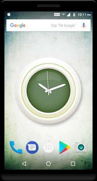 Olive Clock Live Wallpaper apk screenshot