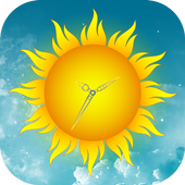Sun Clock Live Wallpaper icon