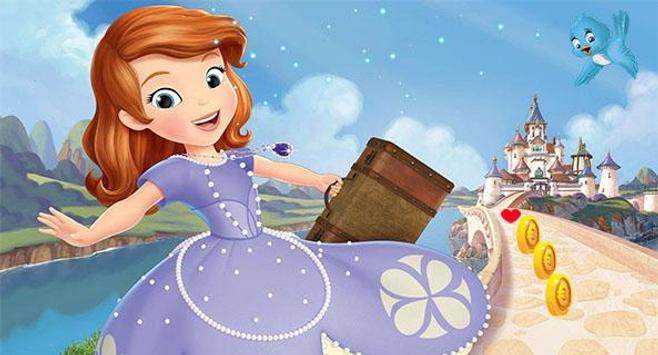 Adventure Princess Sofia Run poster