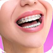 Top Design Braces teeth icon