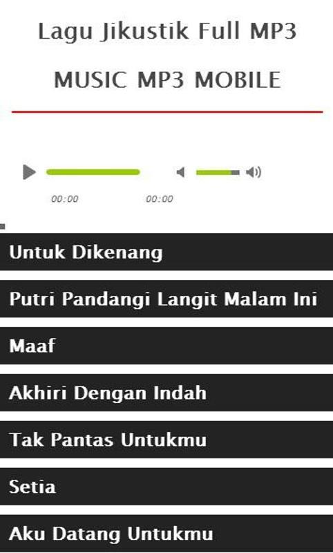 Free download mp3 jikustik setia.