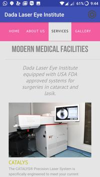 Dada Laser Eye Institute screenshot 1