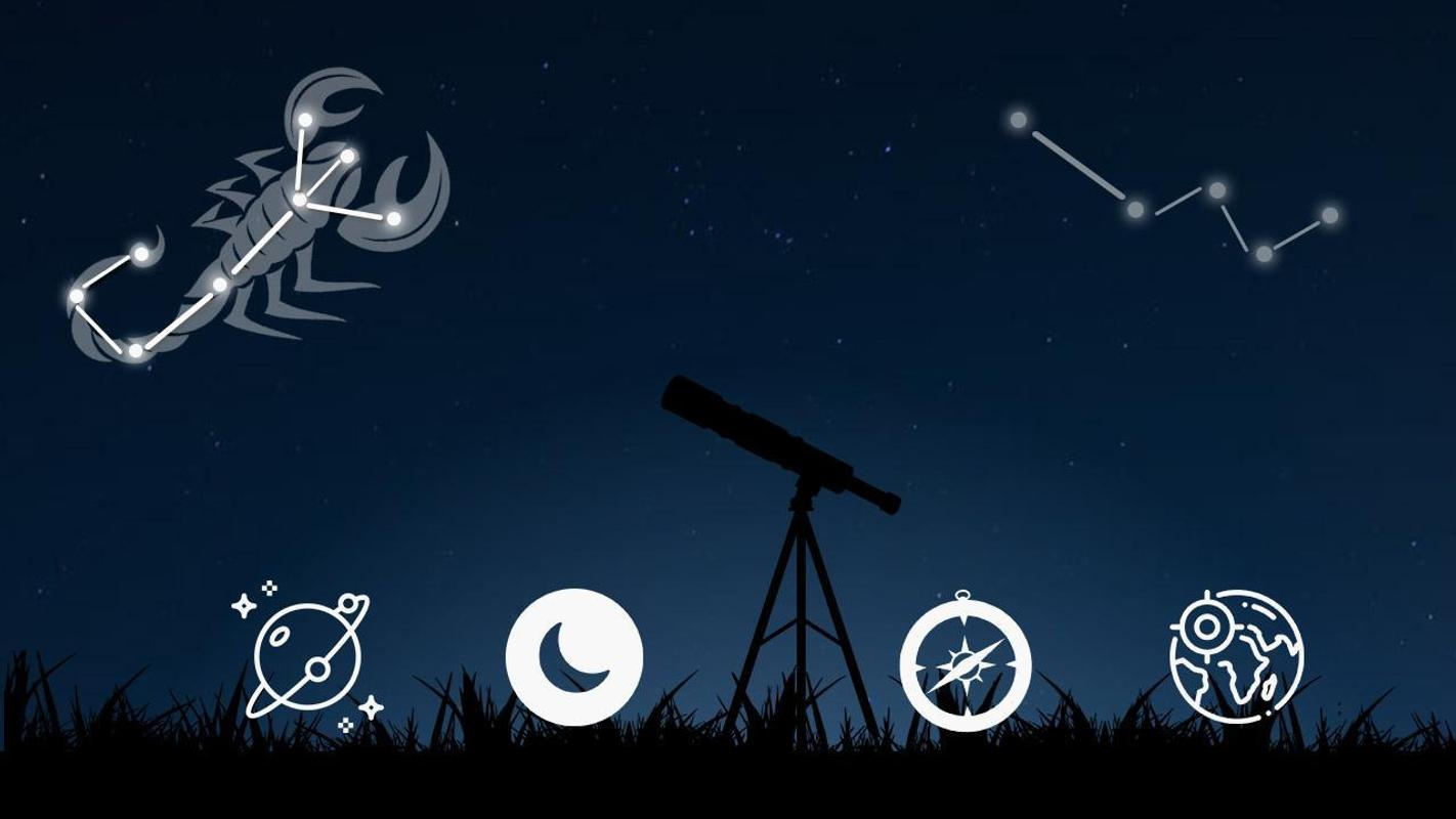 Star Map App For Android.Sky Map App Free Star Constellation Finder 2019 For Android Apk