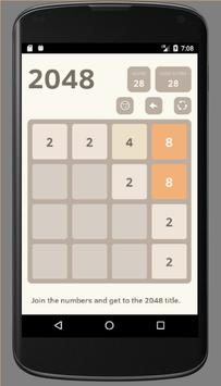 2048 Brain Game poster