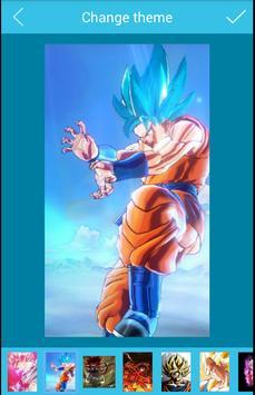Goku Super HD Écran de verrouillage Dragon boul screenshot 10