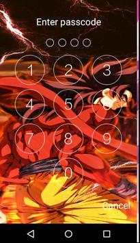 Goku Super HD Écran de verrouillage Dragon boul screenshot 2