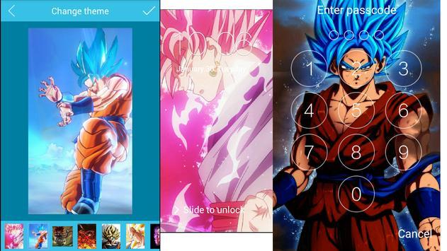 Goku Super HD Écran de verrouillage Dragon boul screenshot 6
