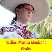 Radios: Musica Mexicana Gratis icon