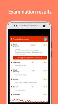 iCare Health Monitor (BP & HR) apk screenshot