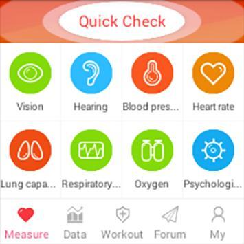 iCare Lung Capacity apk screenshot