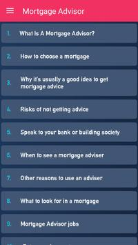 Mortgage Advisor poster