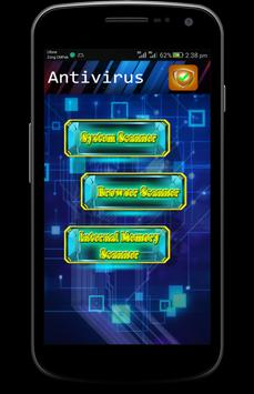 AntiVirus for android Prank poster