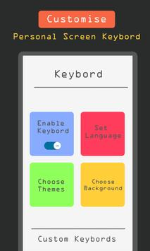 Custom Keybord apk screenshot