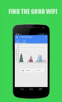 WiFi Manager Analyzer free screenshot 1