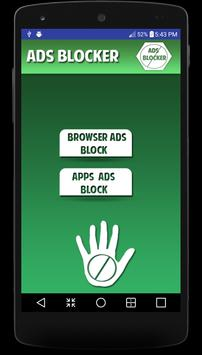 Ads blocker for android prank poster