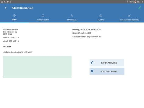 commobile apk screenshot