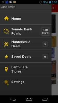Get Deals from Earth Fare apk screenshot