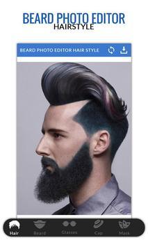 Beard Photo Editor-Hairstyle poster