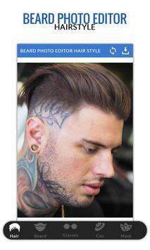 Beard Photo Editor-Hairstyle apk screenshot