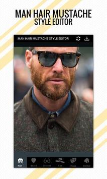 Man Hair Mustache Style Editor Pro apk screenshot