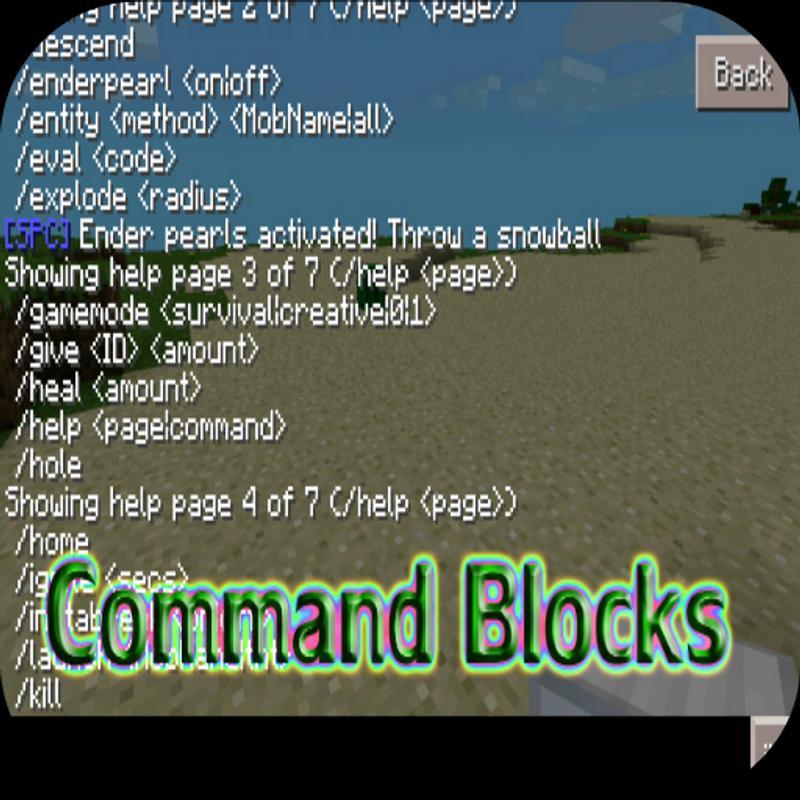 Command Blocks For Minecraft APK Download Free Books Reference - Minecraft ender games kostenlos spielen