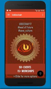 Uddeshah'17 poster