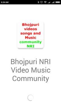 Bhojpuri NRI Community Video Songs and Music poster
