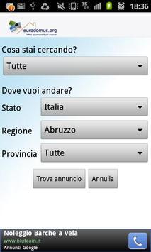 Eurodomus apk screenshot